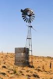 En väderkvarn i Victoria, Australien Arkivfoto