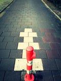En väg Royaltyfri Fotografi