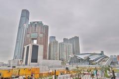 en västra Kowloon och Hong Kong 2019 royaltyfri foto
