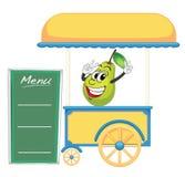 En vagnsstall och ett päron Royaltyfri Fotografi