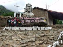 En Vallegrande d'Ernesto Che Guevara Image libre de droits
