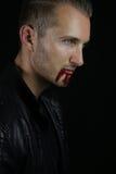 En vampyrberättelse - stilig vampyr Arkivbild