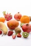 En variation av frukt Royaltyfri Bild