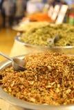 En variation av kryddor, smaktillsatser, teer Arkivbilder