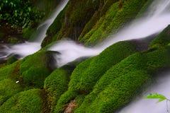 En vattenfall royaltyfri fotografi