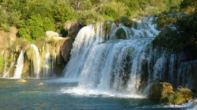 En vattenfall Arkivbilder