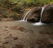 En vattenfall på jur-jurfloden i crymeaen, Ukraina Fotografering för Bildbyråer