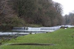 En vattennedgång Royaltyfria Foton