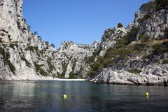 The En Vau calanque. France. Stock Photography