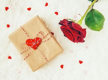 En vektorillustration valentin för dag s Royaltyfri Foto