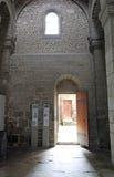 En Velay, France de Cloître Accueil Isabelle Romee Le Puy de Frances photo stock