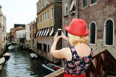En Venecia Fotos de archivo