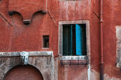 En Venecia de Fachada Fotografía de archivo