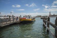 En Venecia (Grand Canal) Foto de archivo