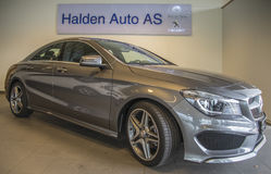 En vente, cla 200 de Mercedes-benz Image libre de droits