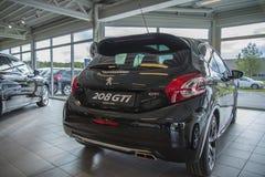 En vente, gti de Peugeot 208 Photographie stock