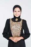 En vestido del abaya Fotos de archivo libres de regalías