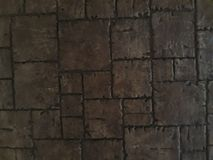 En viejo color marrón arbolado foto de archivo