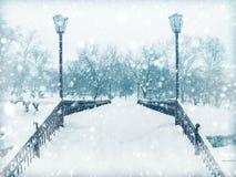 En vinter landskap Royaltyfri Foto
