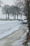En vintervew Royaltyfri Foto