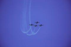 En vuelo Fotos de archivo