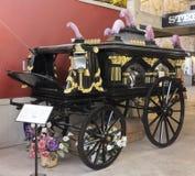 En walesisk likvagn på Texas Cowboy Hall av berömmelse Royaltyfri Foto