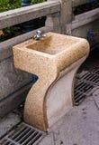 En wc arkivbild