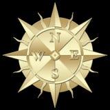 En windrose royaltyfri foto