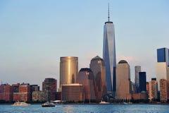 En World Trade Center Royaltyfria Foton