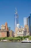 En World Trade Center, aka frihet Royaltyfri Fotografi