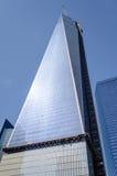 En World Trade Center, aka frihet Arkivfoto