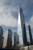 En World Trade Center, Freedom Tower, New York Arkivfoton