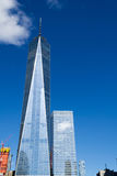 En World Trade Center i det finansiella området av NYC Royaltyfri Bild