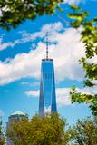 En World Trade Center New York City Royaltyfria Foton