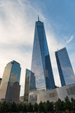 En World Trade Center, New York City Royaltyfri Fotografi
