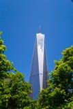 En World Trade Center som buidling Royaltyfri Fotografi