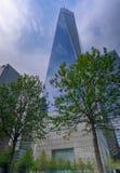 En World Trade Centerkonstruktion i New York City Fotografering för Bildbyråer
