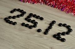 25 12 en writitng Fotografía de archivo libre de regalías