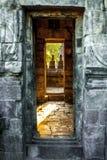 En y hacia fuera, dos puertas Fotografía de archivo