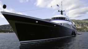 en yacht Arkivbild
