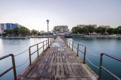 Enaerios pier, Limassol, Cyprus Royalty Free Stock Photos