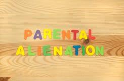 Enajenación parental Imagen de archivo libre de regalías