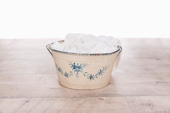 Enamel basin Stock Images