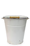 Enamel  bucket Royalty Free Stock Images