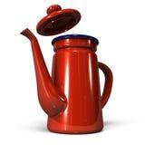 Enamel Coffee Pot Stock Image