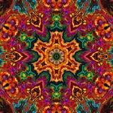 Enamel kaleidoscope Stock Photos