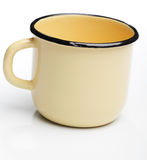 Enamel mug Royalty Free Stock Photography