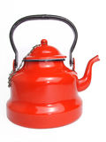 Enamel teapot Royalty Free Stock Photo