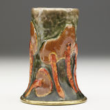 Enameled Mushroom Vase Royalty Free Stock Photo