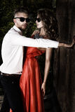 Enamored couple Stock Photography